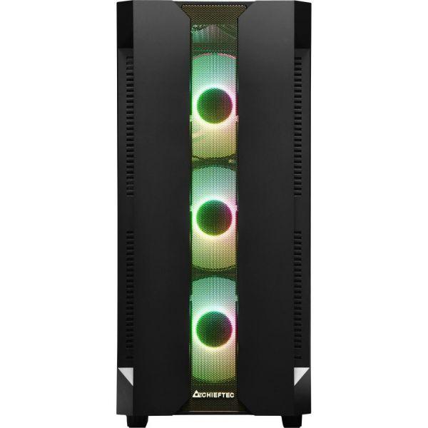 Корпус Chieftec Gaming Hunter Tempered Glass Edition (GS-01B-OP)